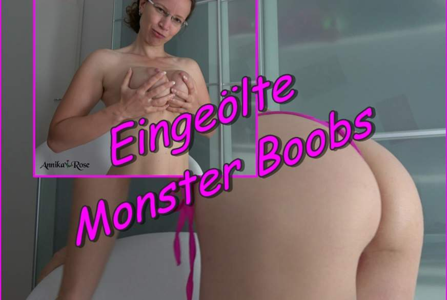 Eingeölte M*****r Boobs