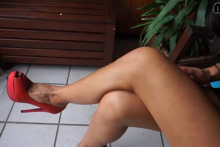 S*****k ALLES aus meinem High Heel.mp4