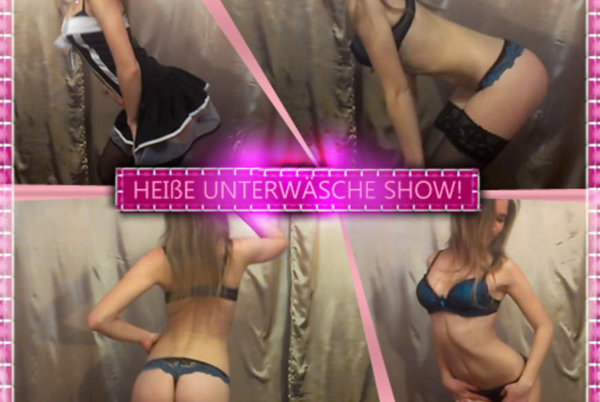 Heiße Unterwäsche Show!