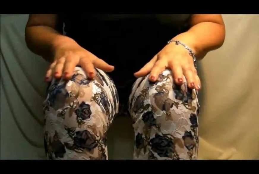 Clip Leggings und Heels