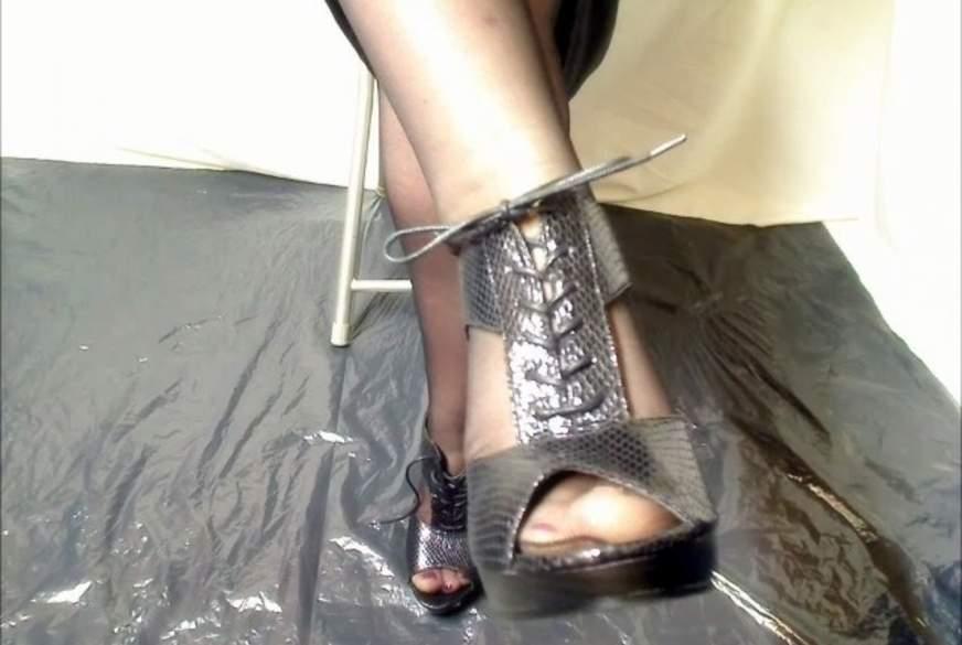 Heels und Kleid
