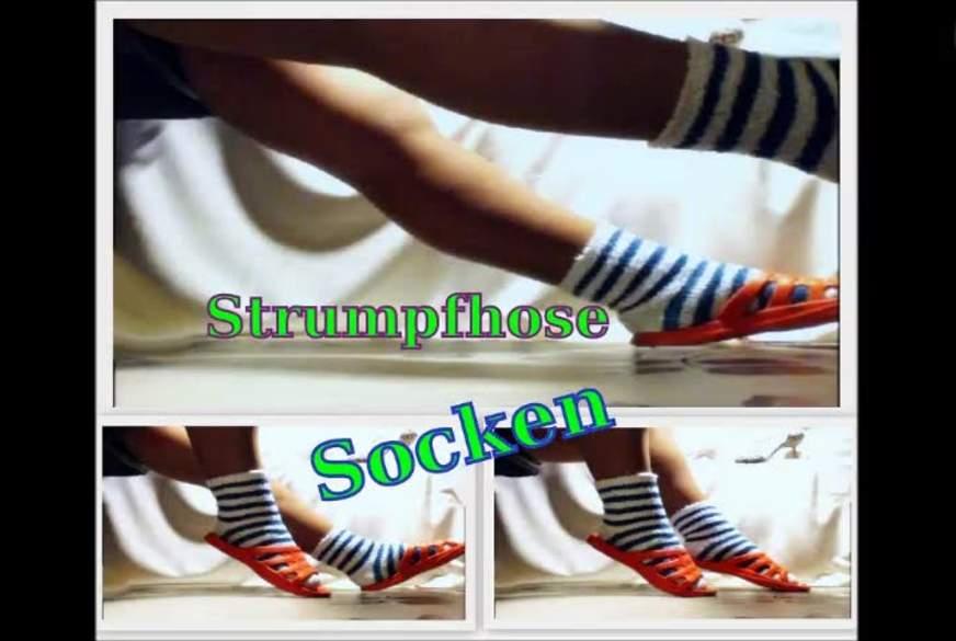 Strumpfhose und Socken