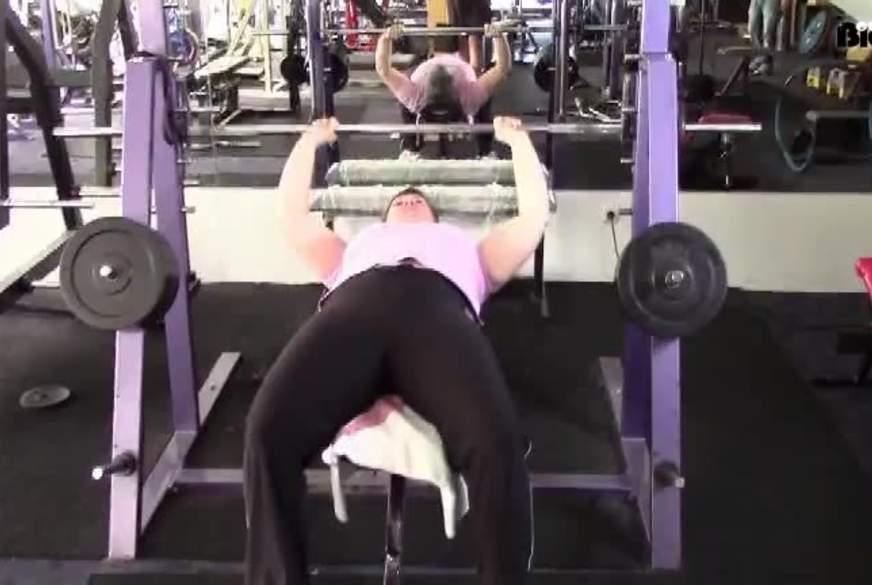 B*****b im Fitnessstudio