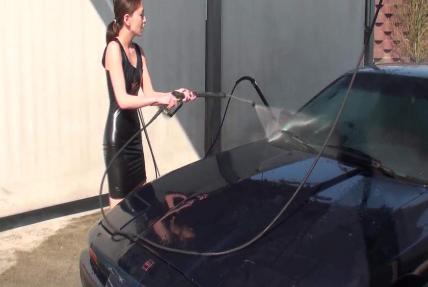 Latex Carwash!! (Userwunsch)