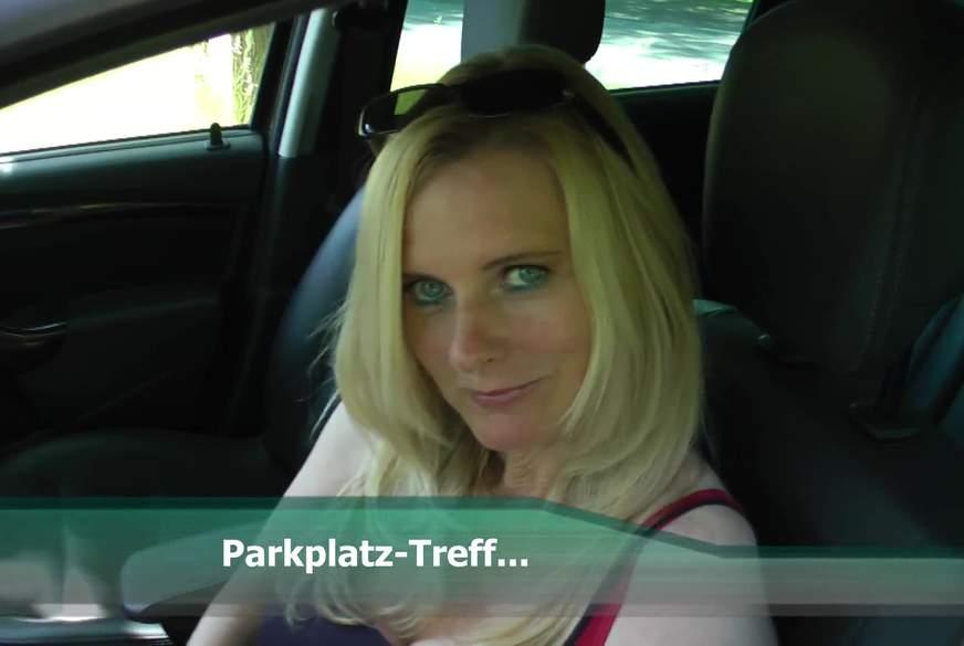 Parkplatz-Treff....