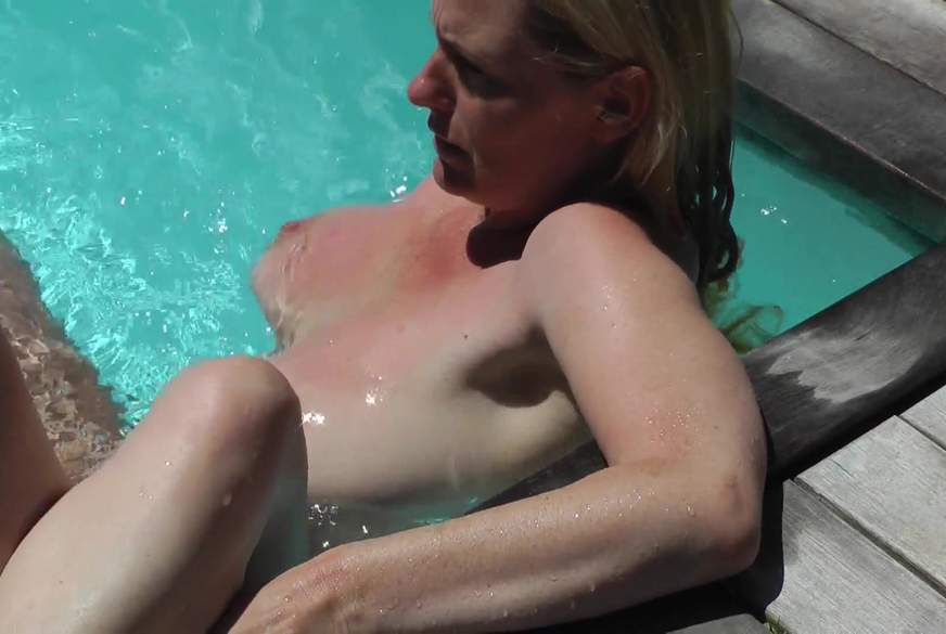 Geiler Sex im Pool….