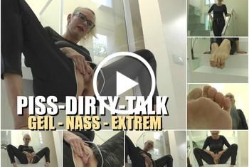 DirtyTina: Piss Dirty Talk I Geil  Nass  Extrem