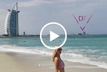 RISKANT! F**kdate am Strand von Dubai vereinbart!