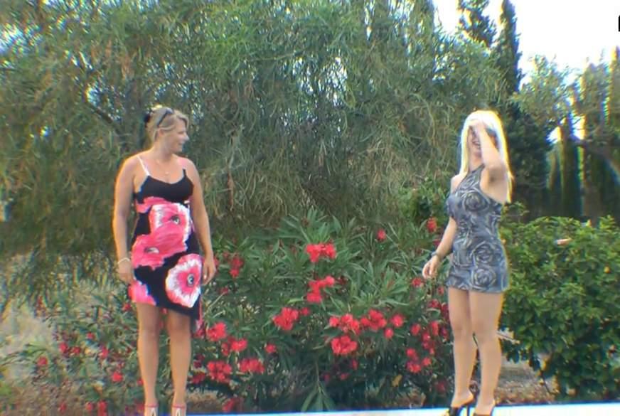 Dreierf**k mit dem Fotografen am Pool