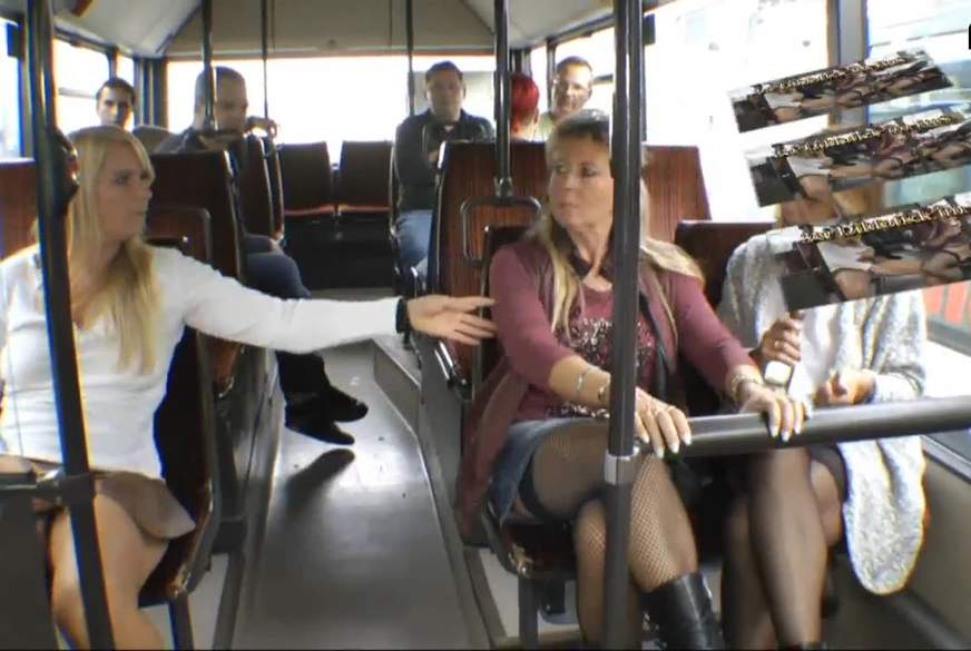 Hammer 3er D*******k im Bus
