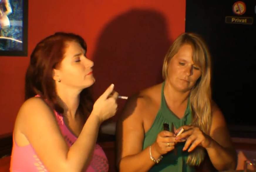 Rauchen vor W*****ndem Spanner