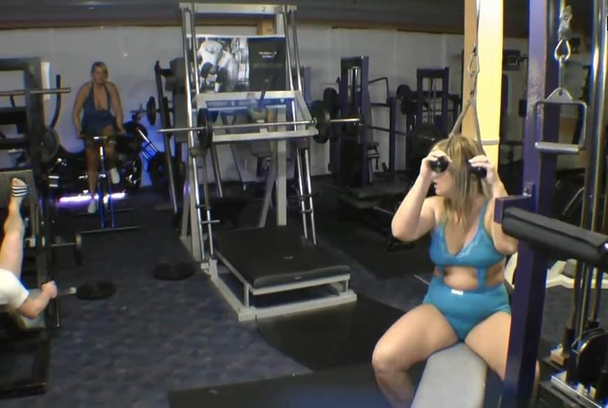 F****n im Fitness Studio