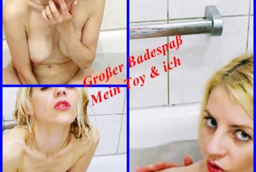 Wildes g*****e mit natur V******r in der Badewanne