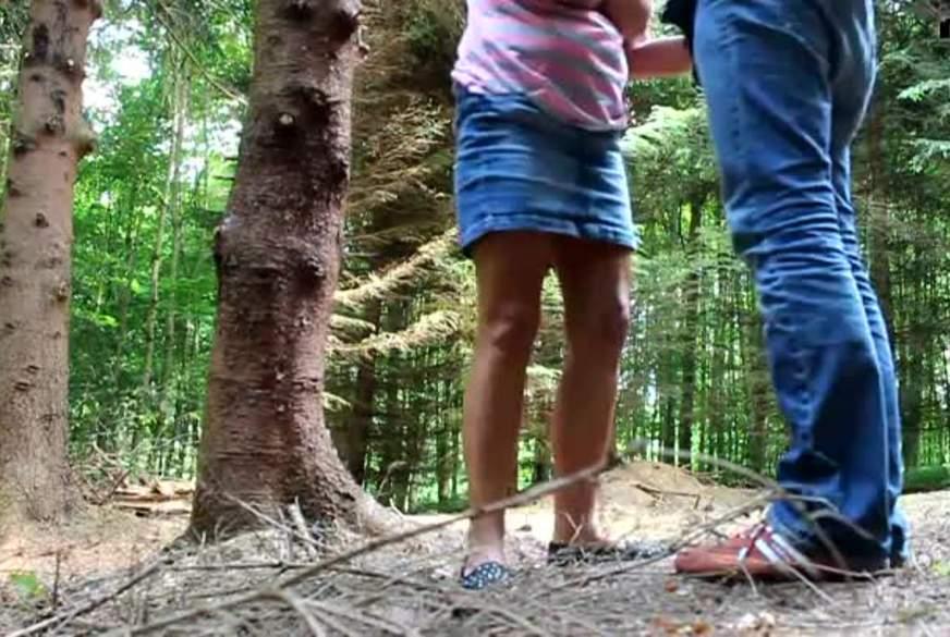 im Wald g*****t worden