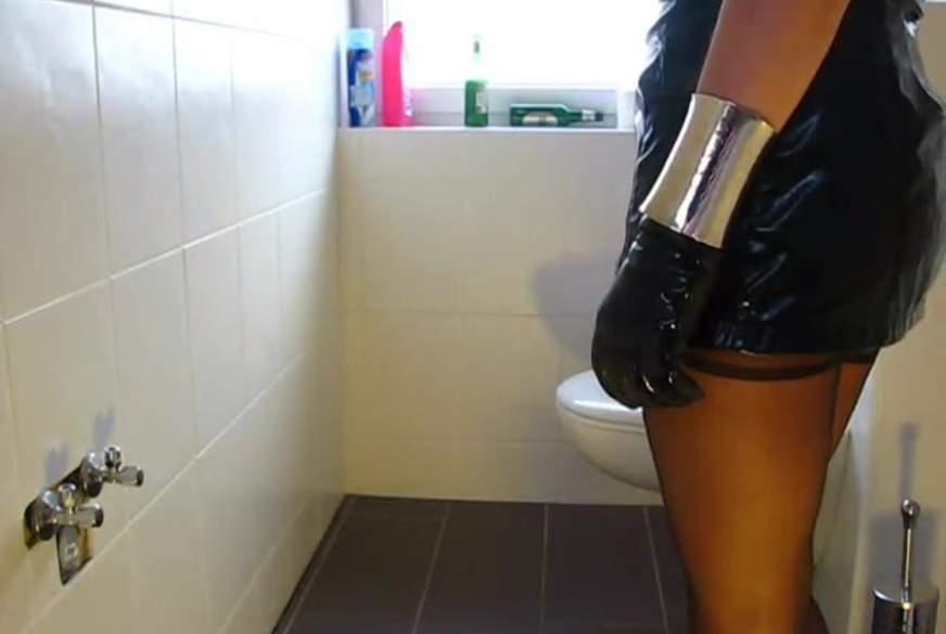 Toilettenf**k während einer Party