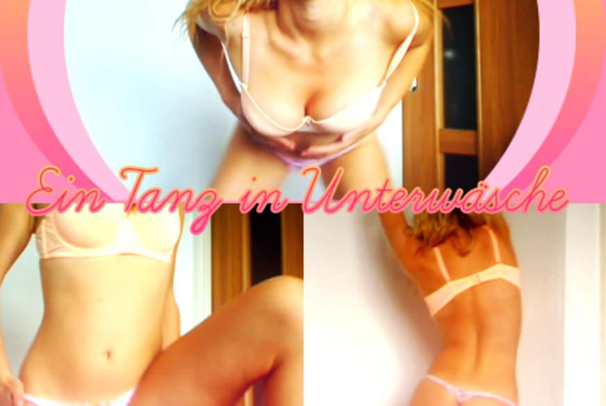 Ein Tanz in Unterwäsche