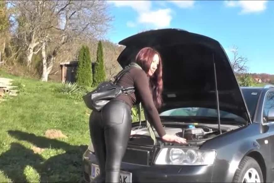 KFZ-Mechaniker f***t mein A***h Kaputt