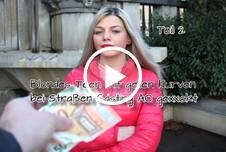 Blondes Teen mit geilen Kurven bei Straßen Casting AO gefickt Teil 2