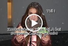 Zuckersüsses T**n Mila bei Strassen Casting g*****t Teil 1