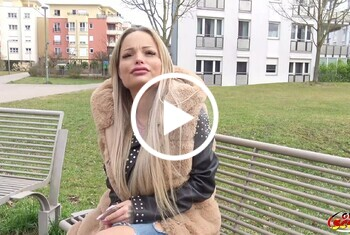Traumfrau Shorty aus Köln beim ersten Date direkt g*****t Teil 1