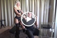 Sexy secretary got fucked by the boss