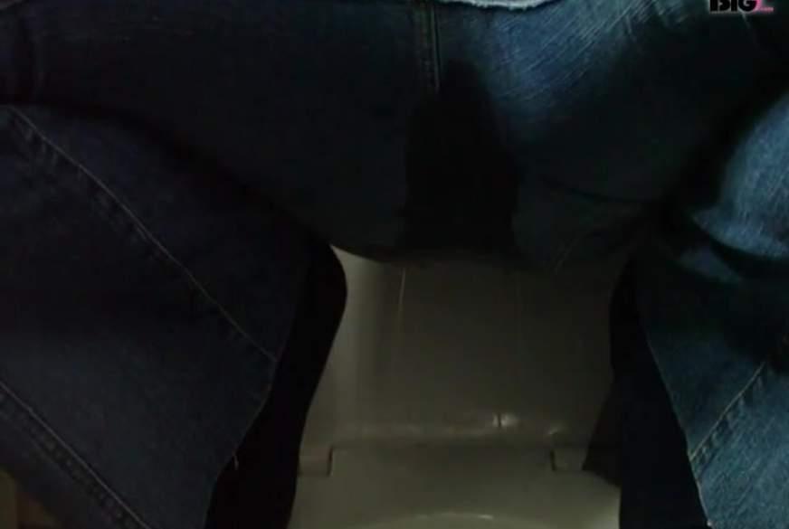 B**se extrem voll durch die Jeans g*****t